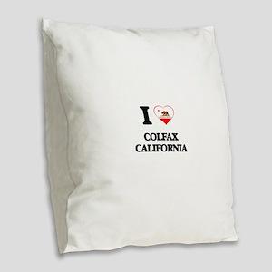 I love Colfax California Burlap Throw Pillow