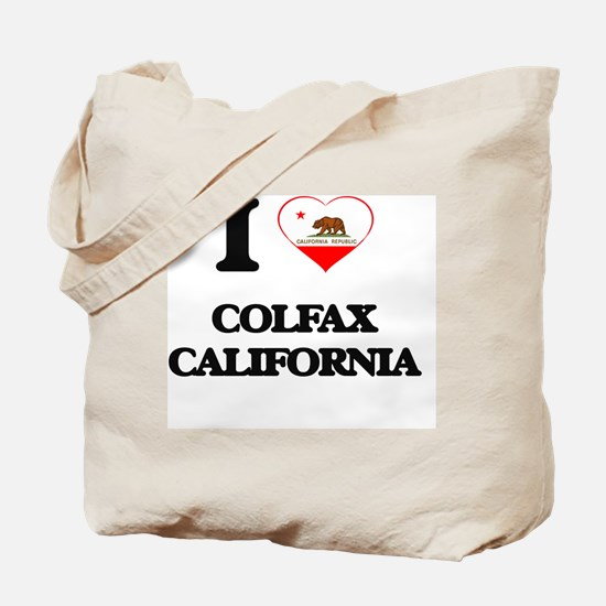 I love Colfax California Tote Bag