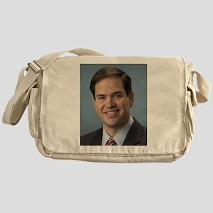 marco rubio portrait Messenger Bag