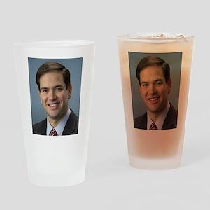 marco rubio portrait Drinking Glass