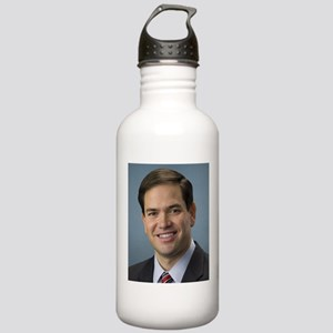 marco rubio portrait Water Bottle