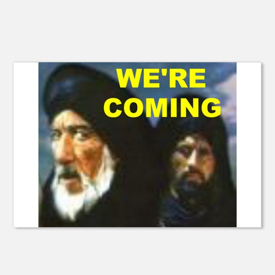 MUSLIMS COMING Postcards (Package of 8)