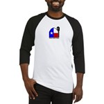 Texas Music Barn Baseball Jersey (white)