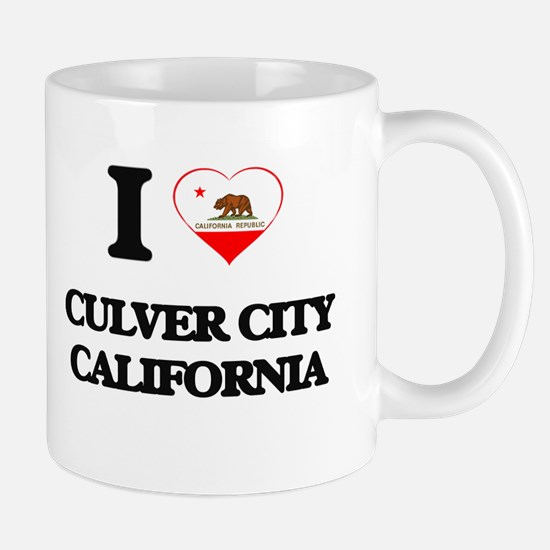 I love Culver City California Mugs