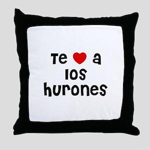 Te * a los Hurones Throw Pillow