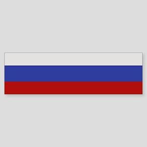"""Russia Flag"" Bumper Sticker"