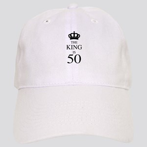The King Is 50 Cap