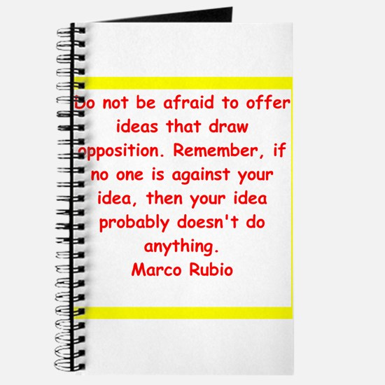 marco rubio quote Journal