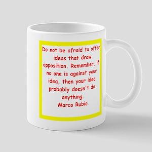 marco rubio quote Mugs