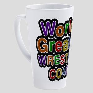 World's Greatest WRESTLING COACH Latte Mug
