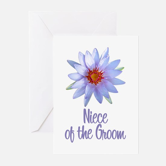 Lotus Groom's Niece Greeting Cards (Pk of 10)