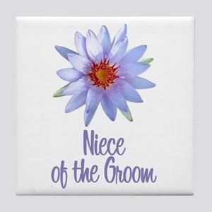 Lotus Groom's Niece Tile Coaster