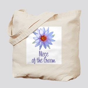 Lotus Groom's Niece Tote Bag