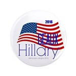Geaux Hillary 2016 Button