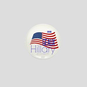Geaux Hillary 2016 Mini Button