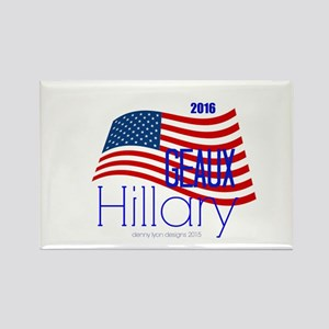 Geaux Hillary 2016 Rectangle Magnets