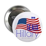 """Geaux Hillary 2016 2.25"""" Button (10 Pack)"""