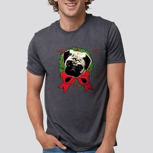 Christmas pug holiday T-Shirt