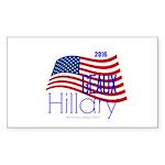 Geaux Hillary 2016 Sticker (rectangle)