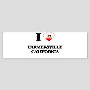 I love Farmersville California Bumper Sticker