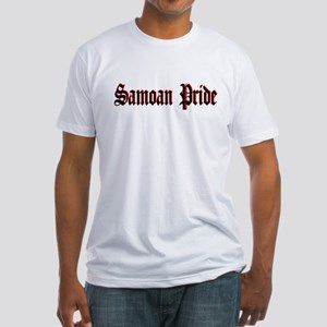 Samoan Pride Old E Fitted T-Shirt