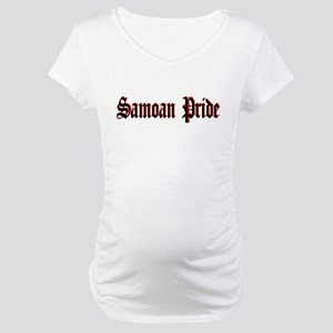 Samoan Pride Old E Maternity T-Shirt