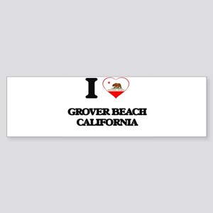 I love Grover Beach California Bumper Sticker