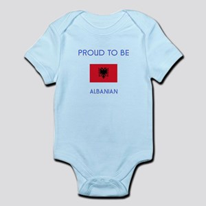 Proud to be Albanian Body Suit
