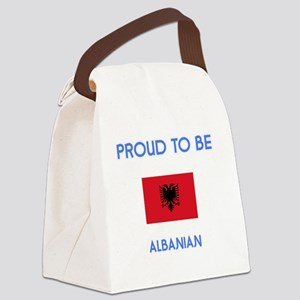 Proud to be Albanian Canvas Lunch Bag
