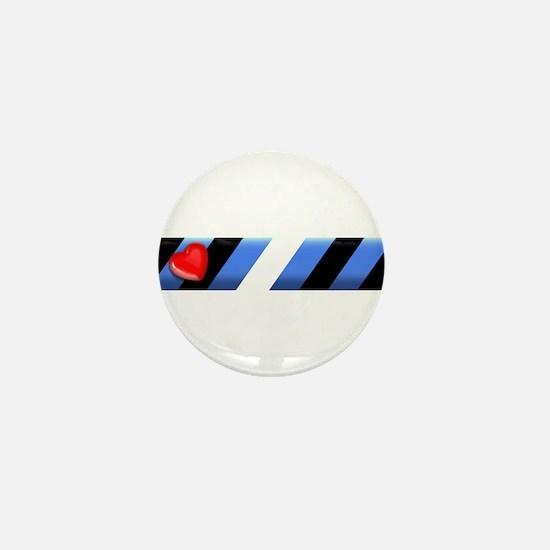 LEATHER PRIDE BAR/SKEWED Mini Button