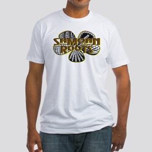 Samoan Roots Tribal Fitted T-Shirt