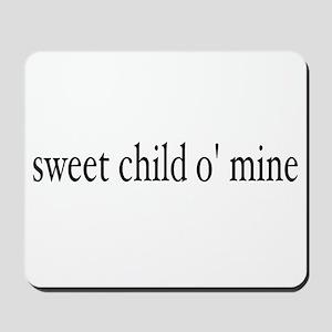 sweet child o mine Mousepad