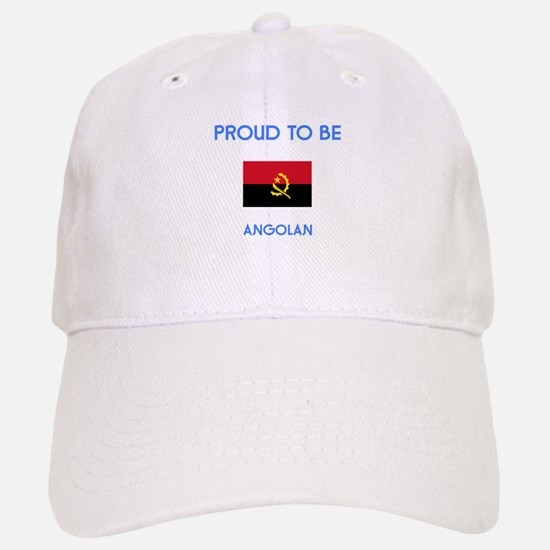 Proud to be Angolan Baseball Baseball Cap