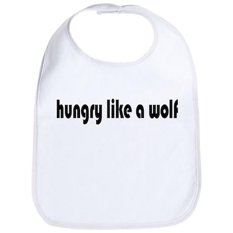 Hungry Like a Wolf Bib