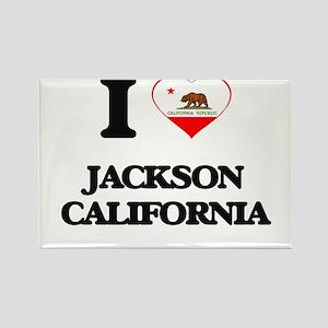 I love Jackson California Magnets