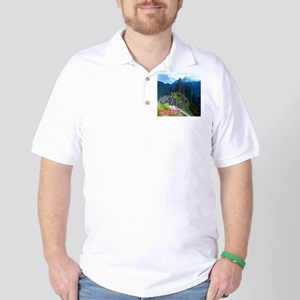 Discover the World: Machu Picchu Golf Shirt