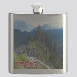 Discover the World: Machu Picchu Flask