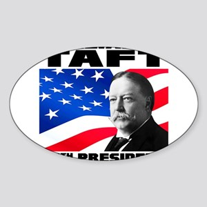 27 Taft Sticker (Oval)