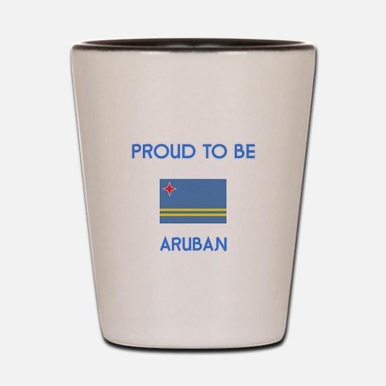 Proud to be Aruban Shot Glass