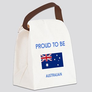 Proud to be Australian Canvas Lunch Bag