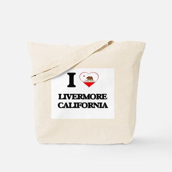 I love Livermore California Tote Bag