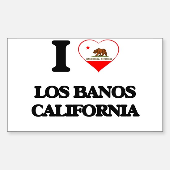 I love Los Banos California Decal