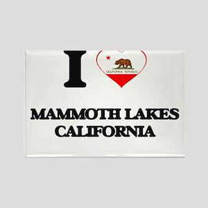 I love Mammoth Lakes California Magnets