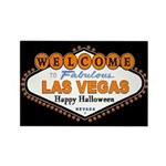 LV Happy Halloween Rectangle Magnet (10 pack)