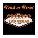 LV Trick or Treat Tile Coaster