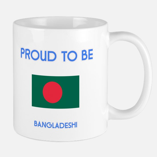 Proud to be Bangladeshi Mugs