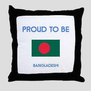 Proud to be Bangladeshi Throw Pillow