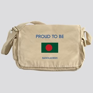 Proud to be Bangladeshi Messenger Bag
