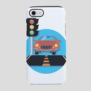 Car at Stop Light iPhone 7 Tough Case