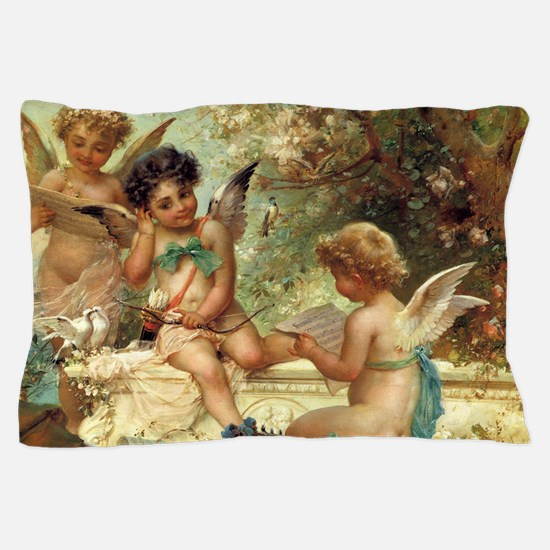Victorian Angels by Zatzka Pillow Case